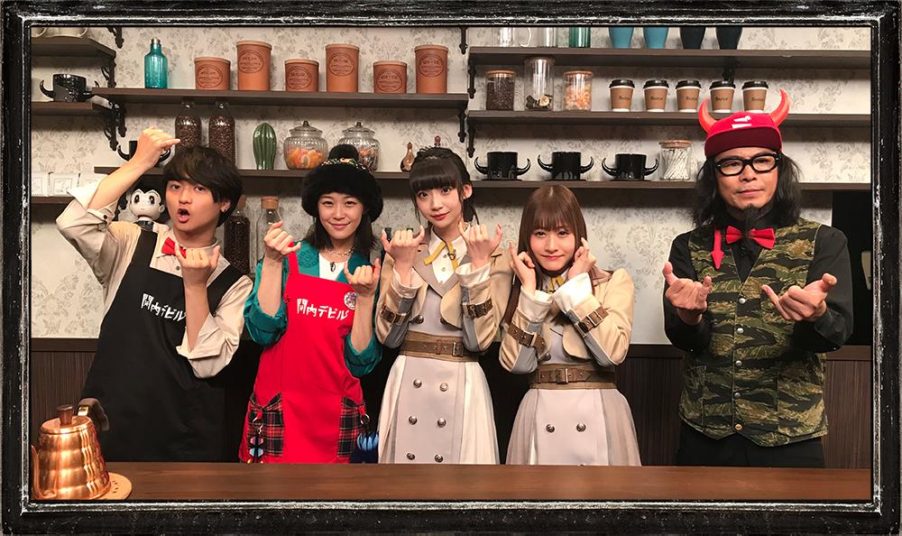 NGT48(荻野由佳、加藤美南)