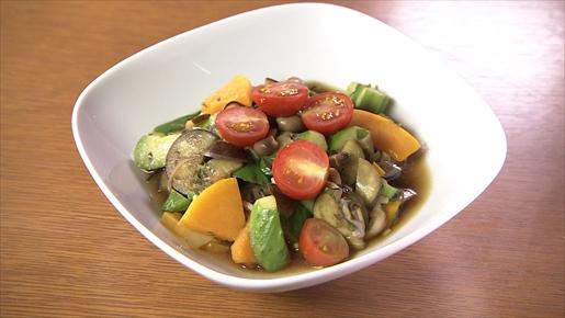 夏野菜の焼きサラダ